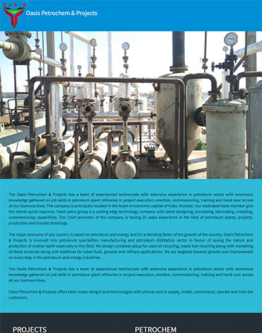 Oasis Petrochem and Projects
